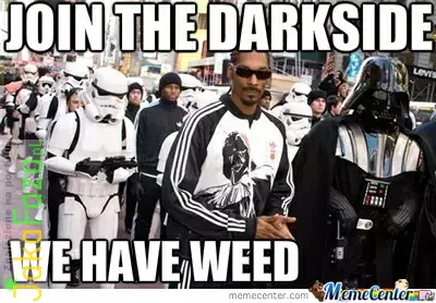 Join The Darkside marihuana